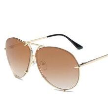 Fashion Sunglasses Eyewear Shades Uv400-Protection Retro Women Metal Frame for And
