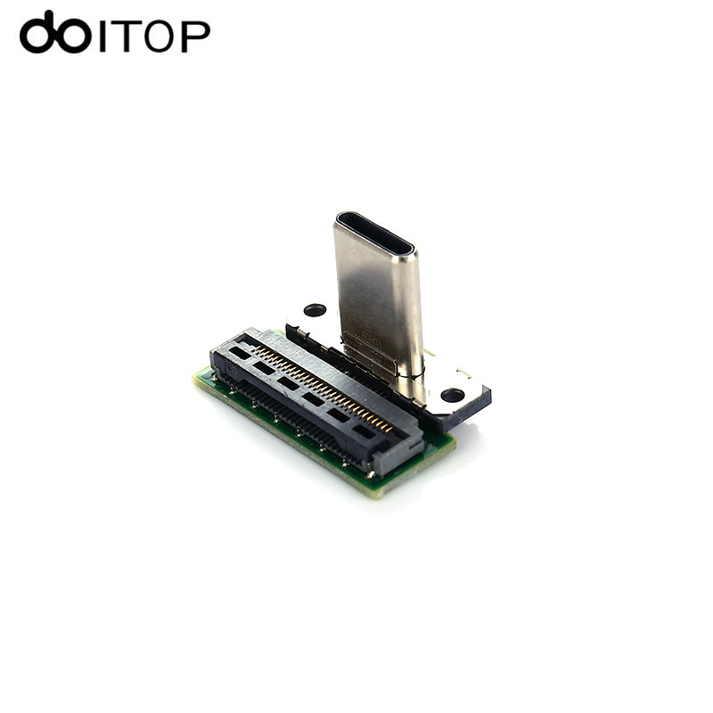 DOITOP Type-C Charging Port Socket Replacement for Nintend Switch NS SWITCH Game Console Game Repair Parts C4 repair parts replacement power port slot for nds lite