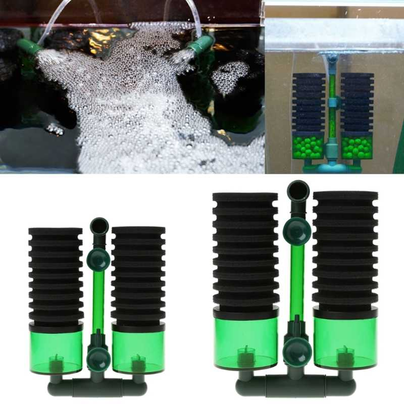 Aquarium Filter Spons Voor Qs Model Filter Fish Tank Luchtpomp Biochemische Vervanging Aquario Accessoire Fish Aquatic Pet Filters