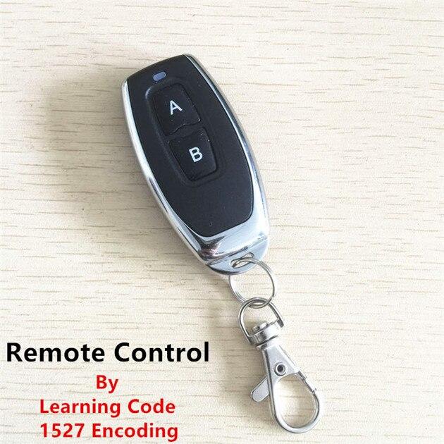 Image 4 - 433Mhz  Wireless Remote Control Switch Universal AC 85V 110V 220V 1CH Relay Receiver Module & RF 433 Mhz Remote Controls-in Remote Controls from Consumer Electronics