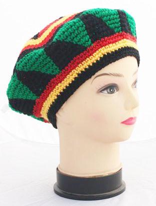 Fashion Punk Jamaica Reggae Knitted Hat Hip Hop Rasta Friendship Bob ... c5035d8e79ee