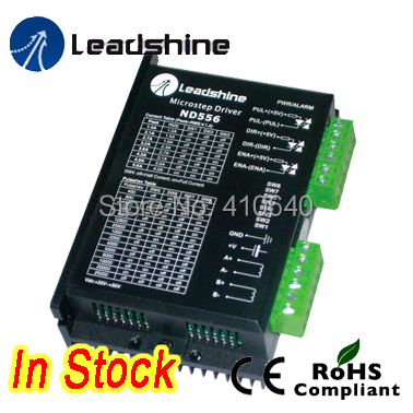 Free shipping! Leadshine Stepper motor Drive ND556 Max current 5.6 A for NEMA23 motor [joy] hakusan original stepper motor drive 4257 series drive maximum 64 aliquots voltage 15v 40 2pcs lot