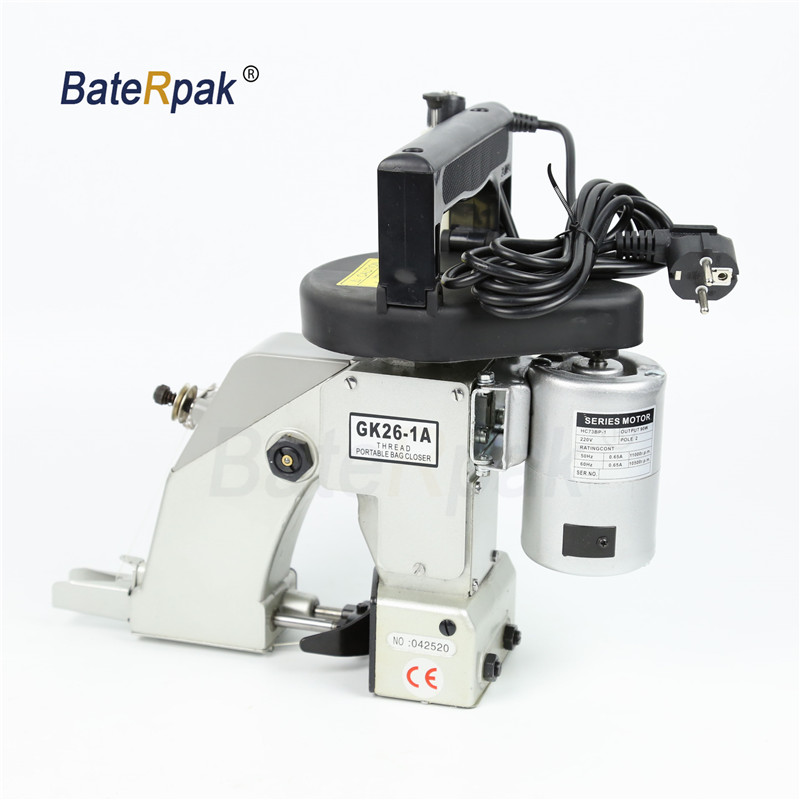 GK26 1A  Thread Portable Bag Closer,PP woven sack closer,BateRpak electrical sewing machine.Rice bag sealer,220 240V-in Sewing Machines from Home & Garden    1