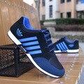 2016 Nuevos Hombres Al Aire Libre de Aire Zapatos Para Caminar Transpirable zapatos de Deporte Hombre de La Manera zapatos de Conducción casual Classic Trainer zapatillas hombre
