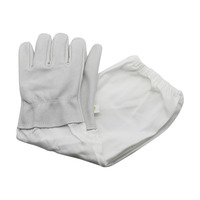 Beekeeping Sheepskin Gloves Anti-bee Anti-sting for Professional Apiculture Beekeeper Bee Keeping Tools 1 Pair