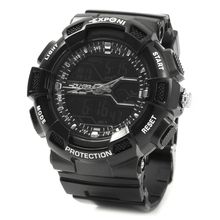 Wristwatch Men Sport Man Watch Dual Display Clock High Quality