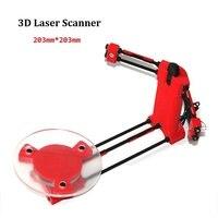 3D Scanner Diy Kit Adapter Object Desktop Scanner For Ciclop Printer Injection Molding Parts High Precision DIY Laser Scanner