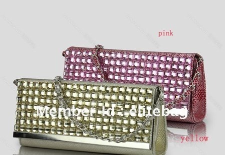 Fashion PU Leather Snake Grain Shining Woman Lady Girl's Shoulder Bag Messenger Bag