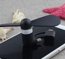 Оптовая 2 в 1 Портативный Мобильный Телефон Мини-Вентилятор USB Охлаждения Кулер Вентилятор Для iPhone Samsung для Android Телефона