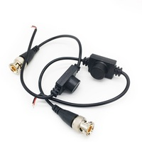 BNC Plug Waterproof twisted pair video transmitter multi function converter Video signal transmission cable