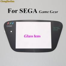 1 stücke Glas Schwarz Für Sega Spiel Getriebe Ersatz Screen Protector GG Display Objektiv