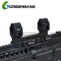 Greenbase AD Scope Mount 1 inch/30mm Dual Ring Heavy Duty 20mm Rail Mount Quick Detachable QD Auto Lock Riflescope Mount