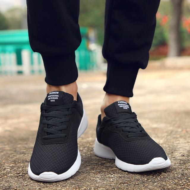 GUDERIAN размера плюс 35-48 модные красовки мужская повседневная обувь мужские кроссовки легкая дышащая обувь Tenis Masculino Adulto