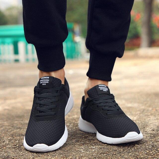 GUDERIAN Artı Boyutu 35-47 Moda Krasovki gündelik erkek ayakkabısı Erkek Sneakers Hafif Nefes Ayakkabı Tenis Masculino Adulto