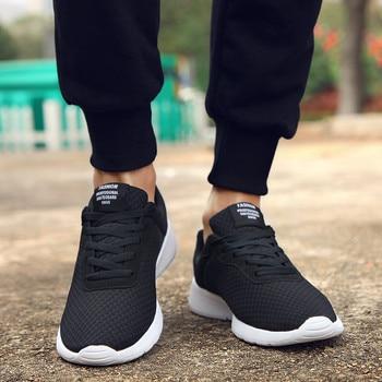 02dd68bd35 GUDERIAN Plus Size Krasovki 35-47 Moda dos homens Casual Sapatos Masculinos  Tênis Respirável Leves Sapatos Tenis Masculino Adulto