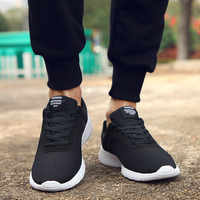 GUDERIAN de talla grande 35-48 zapatos casuales de moda para hombres de estilo informal zapatillas de deporte para Hombre Zapatos transpirables ligeros Tenis Masculino Adulto