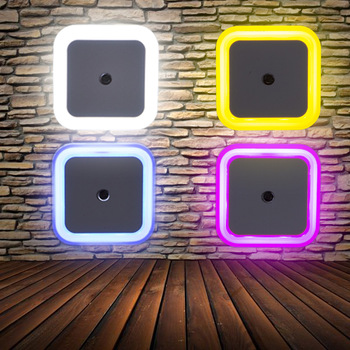 Enchufe led disponible en varios colores