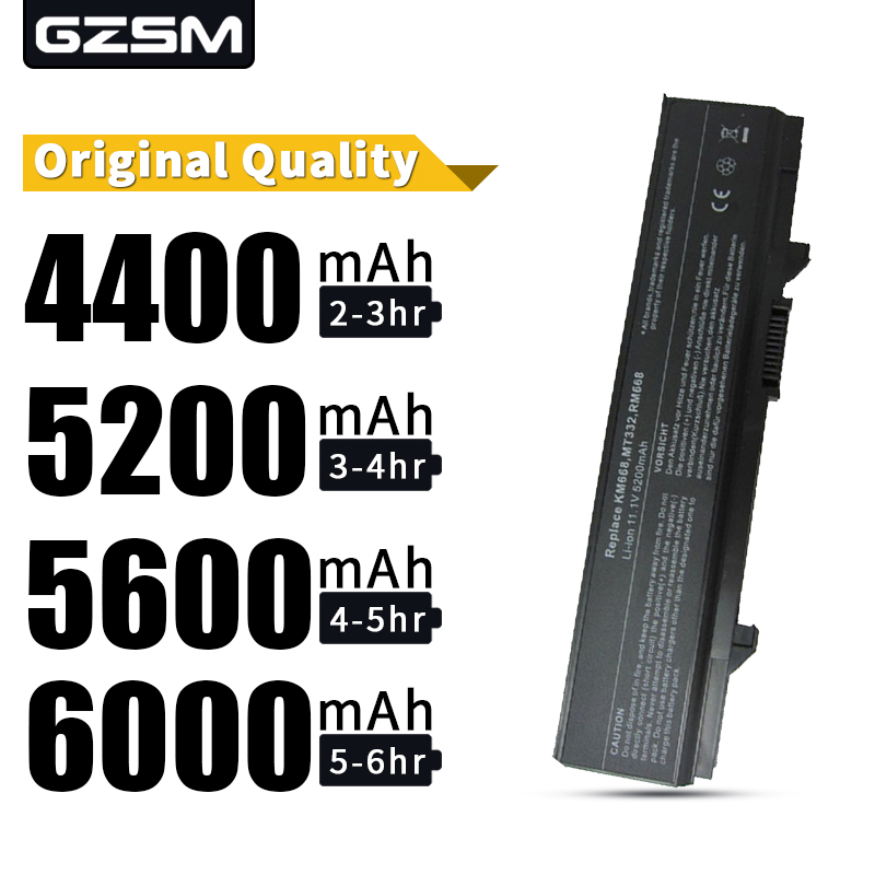 HSW 5200MAH  Battery For Dell Latitude E5400 E5410 E5500 E5510 0RM668 312-0762 312-0769 312-0902 451-10616 451-10617 KM668