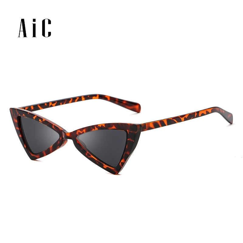 e0c639270a6 Detail Feedback Questions about AiC 2018 New Cat Eye Sunglasses Triangular Sun  glasses Women Fashion small frame Sunglasses UV400 on Aliexpress.com ...