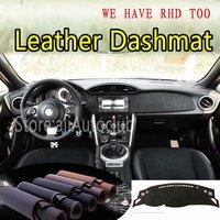 For Toyota FT86 GT86 86Subaru BRZ Scion FR S Leather Dashmat Dashboard Cover Dash SunShade Carpet Custom Car Styling LHD+RHD