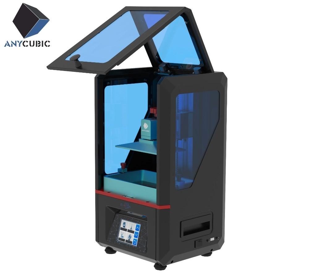 ANYCUBIC Фотон 3D-принтеры Touch ЖК-дисплей Экран DLP UV-LED Ultimate ломтик Скорость плюс Размеры Desktop 3D-принтеры комплект УФ смолы