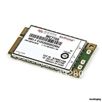 Mini PCI-E 3G WWAN GPS module Sierra MC7700 PCI Express 4G HSPA LTE 100MBP Wireless WWAN WLAN Card GPS Unlocked Free shipping 4G telit ln930 dw5810e m 2 twh3n ngff 4g lte dc hspa wwan wireless network card for venue 11