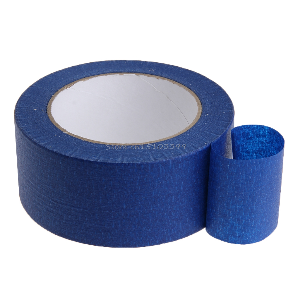 Blue Masking Tape 50mmx50m Painters Printing Masking Tool For Reprap 3D Printer G08 Drop ship color for painters page 8