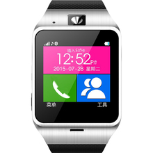 2016 new GV18 Smartwatch Bluetooth Smart Watch wearable devices For Android IOS Phone Support SIM SMS GPRS NFC FM PK DZ09 GT08 U