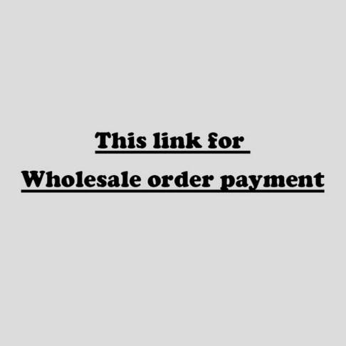 wholesale order