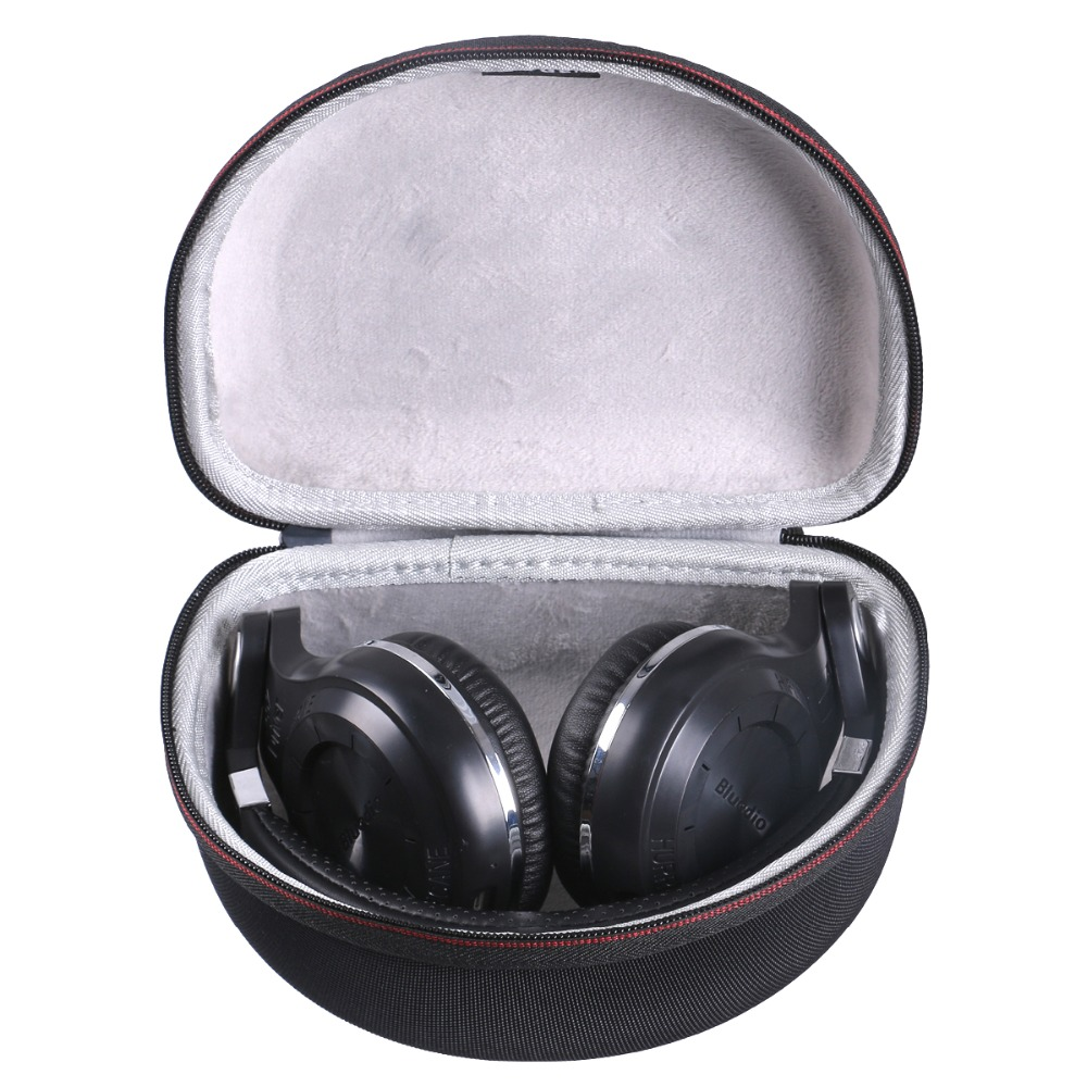 LTGEM EVA Hard Case For Bluedio Turbine T2s & T2 Plus Wireless Bluetooth Headphones - Travel Carrying Storage Bag