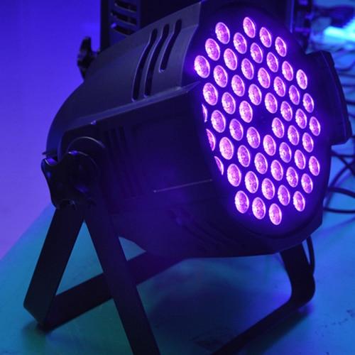 Uv Blacklight 54x3w Uv Led Par Cans For Disco Dj Black