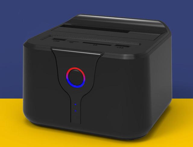 Caixa de disco rígido externo sem fio 2.5 3.5 polegada usb 3 tf SD gabinete para caso SATA para adaptador hdd ssd de 6 TB com rede wi-fi