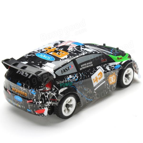 Sender Wltoys K989 1//28 2.4G 4WD Gebürstet RC Fernbedienung Rallye Auto RTR w