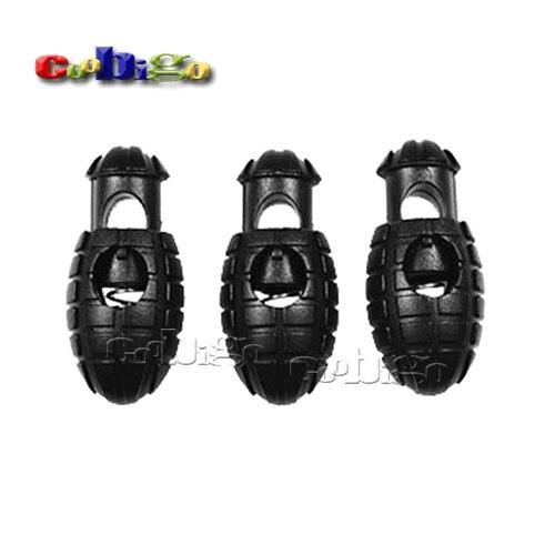 700pcs Plastic Hand Grenade Cord Lock Stopper Rope Clamp