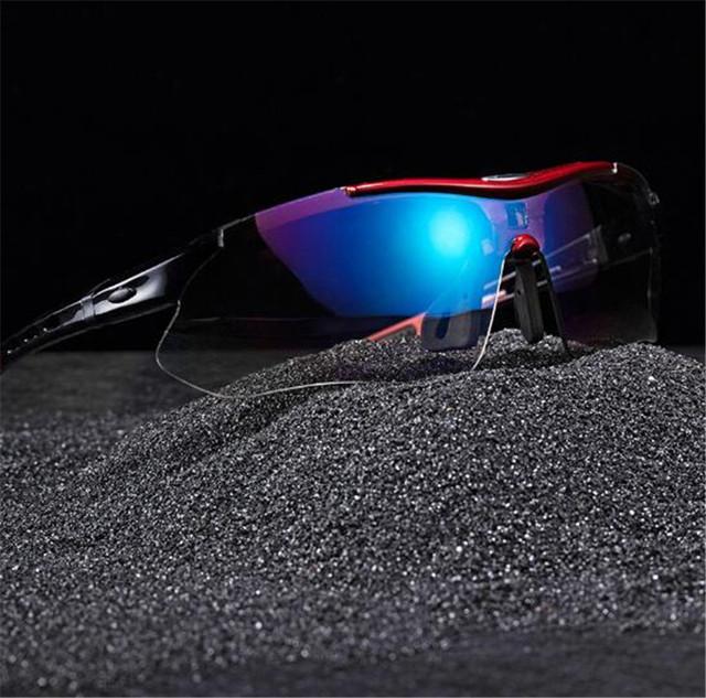 RockBros Polarized Cycling Sun Glasses Outdoor Sports Bicycle Glasses Bike Sunglasses 29g Goggles Eyewear 5 Lens