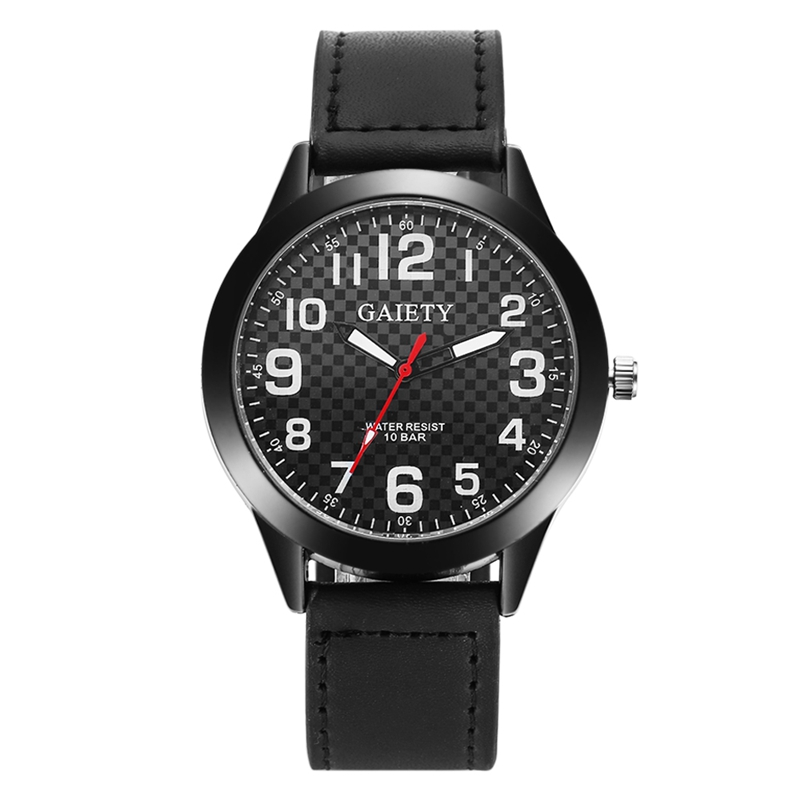 Gaiety Brand Leather Strap Casual Top Luxury Watch Design Vintage Men Wristwatch Male Quartz New Fashion Business Gift Watches new listing yazole men watch luxury brand watches quartz clock fashion leather belts watch cheap sports wristwatch relogio male