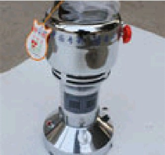 200G chinese herbal medicine herbs grinder soda machine full stainless steel liner blade