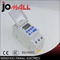 Nouveau 15A 6 V 12 V 24 V 36 V 48 V 110VAC 220VAC Numérique LCD Hebdomadaire Programmable Minuterie Temps relais Commutateur