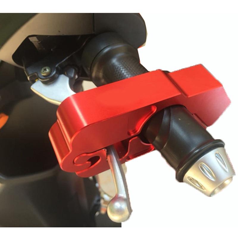 1pcs Huiermeimi Motorcycle Fashion Coloful Handle Grip Security Safety Locks Protection Lock Motorbike Brake Clutch Levers Locks