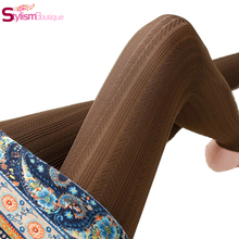 Winter Women Panty-hose Warm Solid Sexy Womens Grils Leggings Leggins Pantalones Mujer Fitness Outfit Legging
