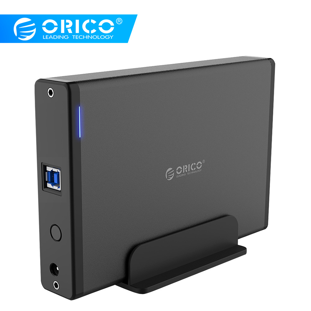 ORICO 7688U3 USB3.0 to SATA3.0 3.5 inch External Hard Drive Enclosure Docking Station Support UASP 12V PowerORICO 7688U3 USB3.0 to SATA3.0 3.5 inch External Hard Drive Enclosure Docking Station Support UASP 12V Power