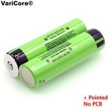 Batteries rechargeables au Lithium, 2 pièces, 100% originales, 3.7 v, 3400 mAh, 18650, avec pointes, pour lampe de poche, nouvelle collection