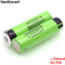 2PCS 100% New Original NCR18650B 3.7 v 3400 mAh 18650 Lithium Rechargeable Battery with Pointed For Panasonic batteries