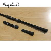 Rod Building Black EVA Spinning Fishing Rod Handle Grip and 18#  DPS Type Reel Seat Fishing Tools     -