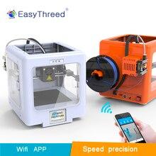 Easythreed Mickey  super mini 3d printer For Kids High Precision good design personal, LCD  intelligent wifi 3d printer цена
