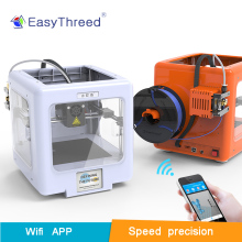 Easythreed Mickey  super mini 3d printer Wifi Mobile APP Kids High Precision consumer personal, LCD intelligent