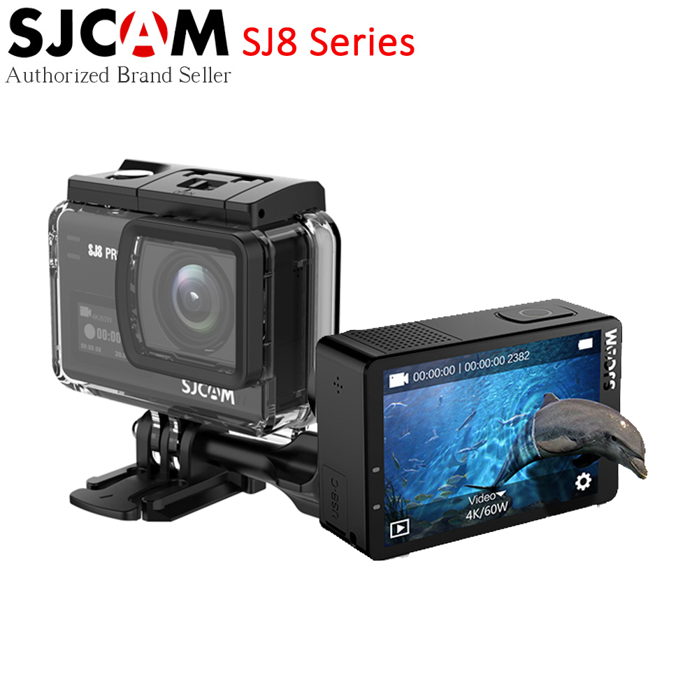 Best buy ) }}SJCAM SJ8 Series Action Camera SJ8 PRO 4K 60fps Touch Screen with Anti