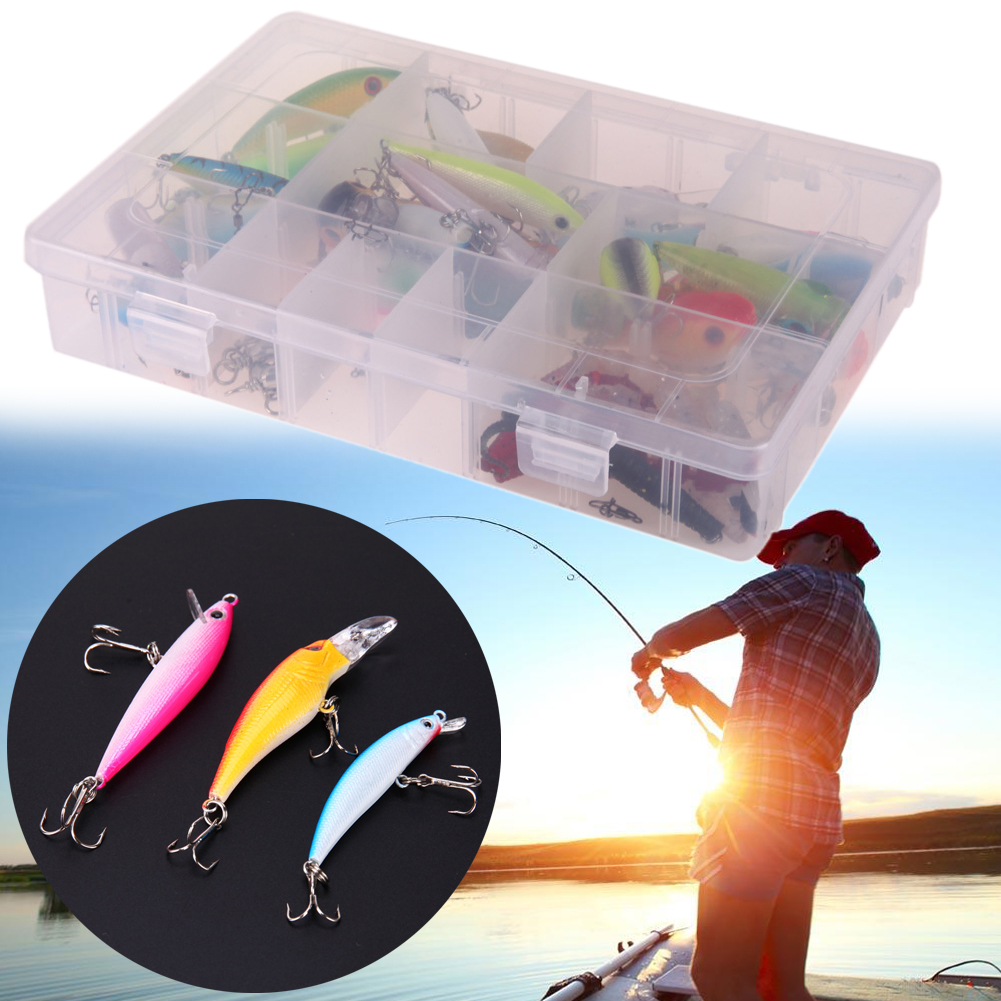 30pcs/lot fishing lure Mixed 6 models Minnow lure fishing tackle Crank Lures Mix fishing bait Isca Artificial Bait with box
