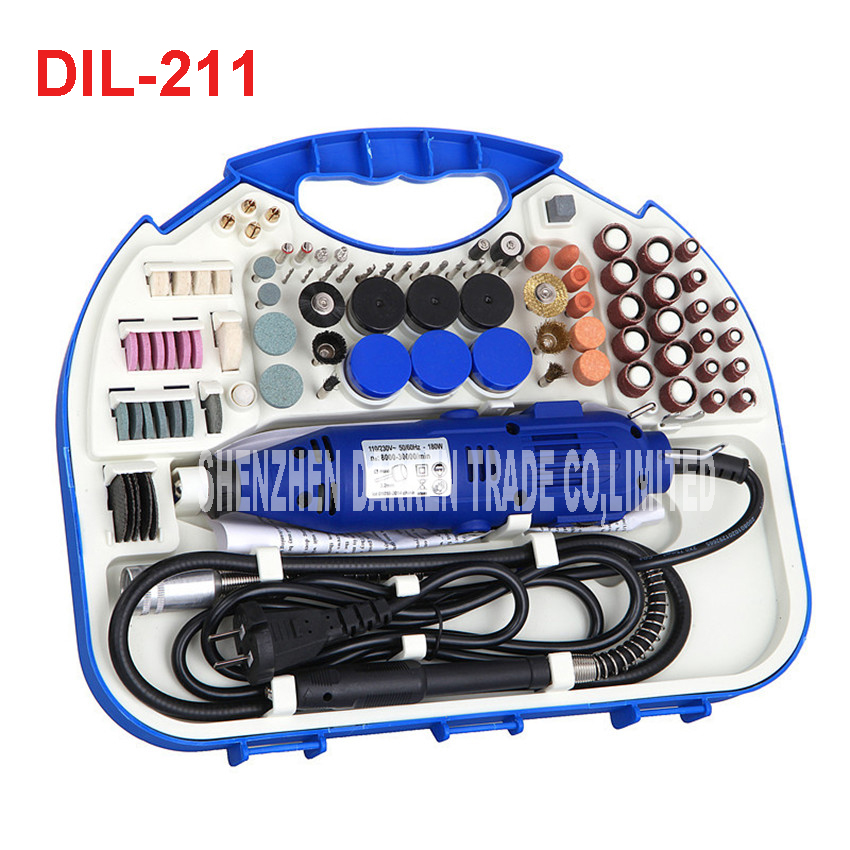 Dremel Tools Accessories Set Electric Rotary Grinder Sander Polisher Carving Machine Grinding Dremel Tool Dremel rotary Tool russia no tax best water jet cutting machine price stone 4aixs cnc router 6040 z s 800w water cooled with limit switch