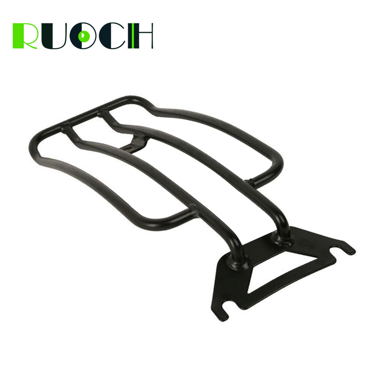 Rear Fender Solo Seat Luggage Rack For Harley 97-15 Touring Road King Road Glide